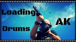 How To: Loading AK-47 Drum Magazines (Rear Loaders)