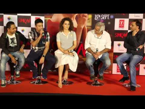 Uncut | Simran Official Trailer Launch | Kangana Ranaut | Hansal Mehta | Full Event