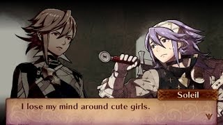 Fire Emblem Fates: Conquest - Male Avatar (My Unit) & Soleil Support Conversations