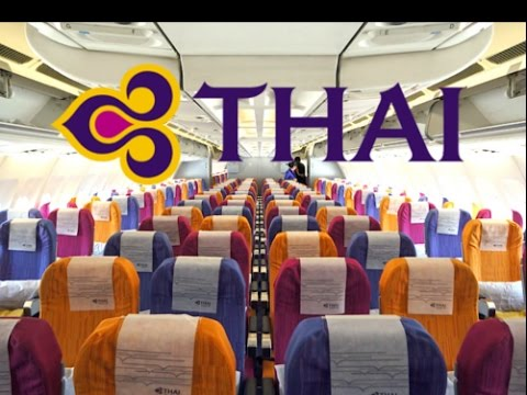 Thai Airways Economy Class 777 300 Pvg Bkk Youtube