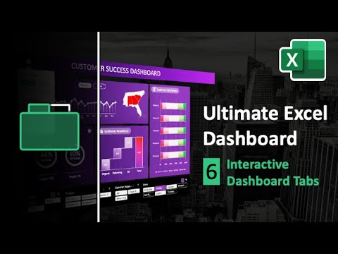 How to Create Interactive Dashboard Tabs in Excel | Ultimate Excel Dashboard Ep. 6
