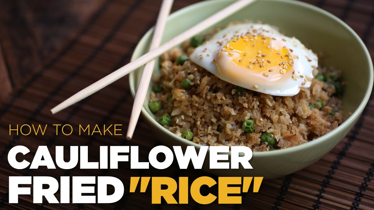 How to make cauliflower fried rice foodbeast kitchen youtube ccuart Choice Image