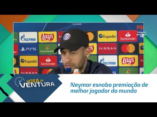 Neymar esnoba premiação de melhor jogador do mundo