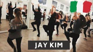 JAY KIM DANCE WORKSHOP - MILAN (ITALY)