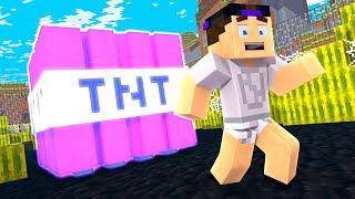 TNT MAIS FORTE do MINECRAFT! #16 - MINECRAFT ATIVIDADE