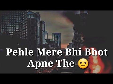 Very Sad True Line Heart Touching  Whatsapp Status Video    Sad Alone Whatsapp Status    Luv Status