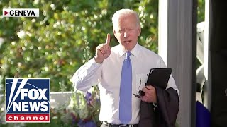Biden erupts at reporter for asking about Putin; 'The Five' react