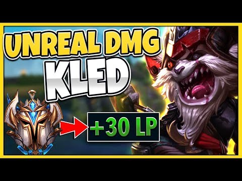 THIS KOREAN KLED MID STRATEGY IS LEGIT FREE WINS!?! THIS DAMAGE IS UNREAL! - League of Legends