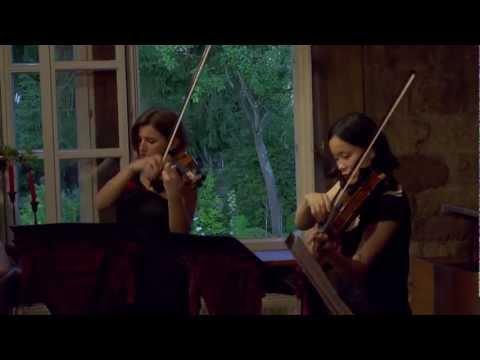 """Saarbrücker SalonEnsemble live """"Ich Liebe Dich"""" Edvard Grieg"""