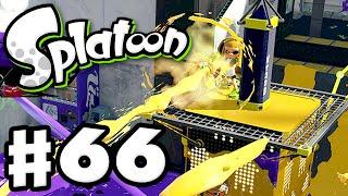 Splatoon - Gameplay Walkthrough Part 66 - Tower Control Frustration (Nintendo Wii U)