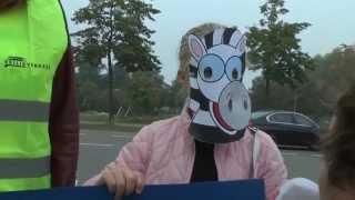Actie voor zebrapaden in Amstelveen