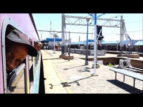 2 KRUGERSDORP // TRAIN to Cape Town - Shosholoza Meyl // Tourist Class, economy sleeper (Sept. 2016)
