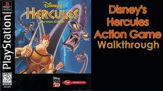 Disney's Hercules Action Game Walkthrough [Herculean Difficulty] [All Letters and Passwords]