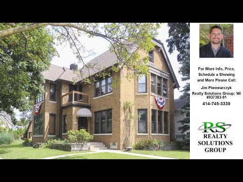 7130 W. Wisconsin Ave, Wauwatosa, WI Presented by Jim Piwowarczyk.