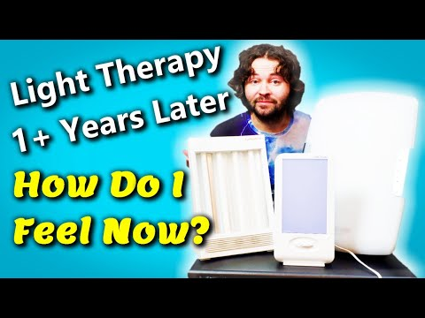 Light Therapy Review For SAD Depression (Verilux Happy Lights & Sun Touch Plus Light Box Therapy)
