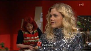 Ida Redig intervju i Go'kväll SVT,  2015