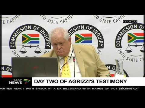 WATCH: Agrizzi explains how Bosasa paid bribes amounting to millions