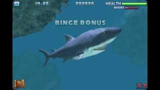 Hungry Shark part 3 Level Complete iPhone Game