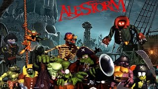 Alestorm   1741 (The Battle of Cartagena) Donkey Kong Country 2 Remix