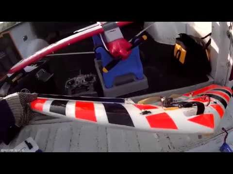 ASSASSIN RC AIRPLANE - FIRST FLIGHTS AND REVIEW