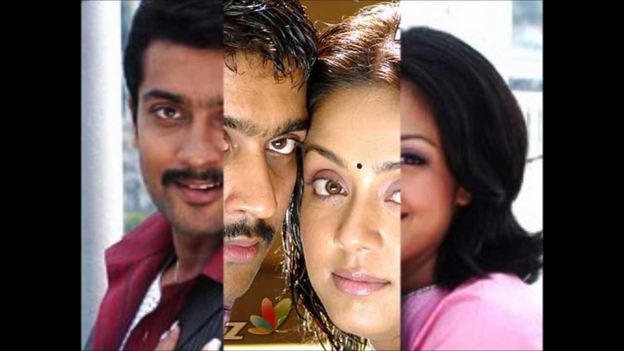 jyothika & suriya -nenjukkul peidhidum full song with lyrics - youtube