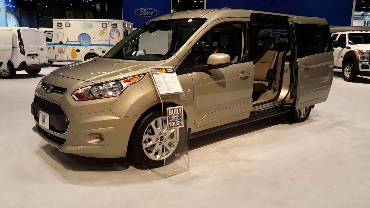 a60d97339c 2016 Ford Transit Connect Titanium Wagon Exterior Walkaround Price ...