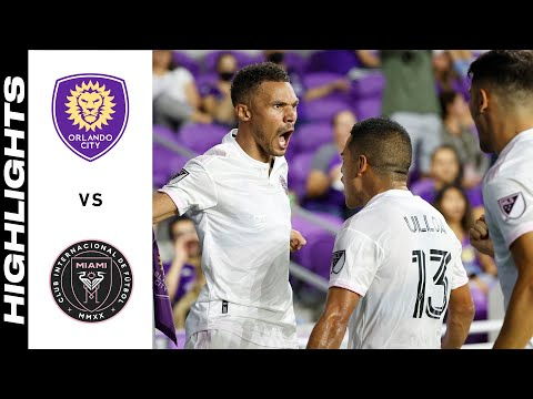 HIGHLIGHTS: Orlando City SC vs. Inter Miami CF | August 04, 2021