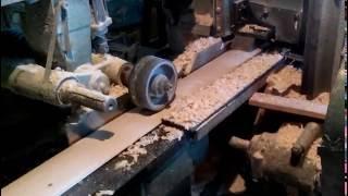 видео Производство блок хауса: станок, фреза, оборудование для изготовления блок хауса своими руками