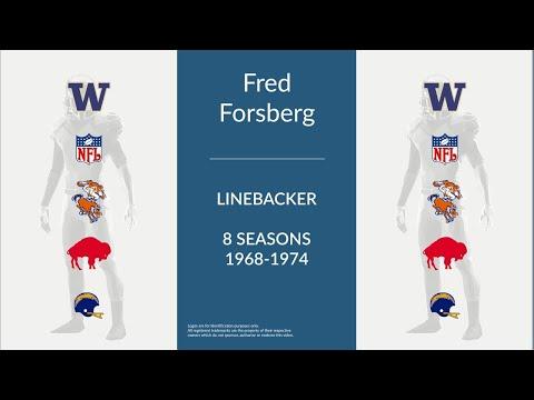Fred Forsberg: Football Linebacker