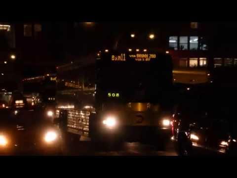 MTA Bus Company 2006-07 MCI D4500CL 3091, 3368 & 3408 on Route BxM11, BxM9 & BxM10