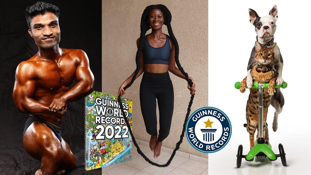 What's inside Guinness World Records 2022?