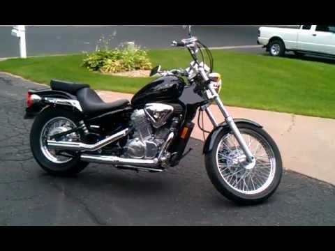 2004 Honda Shadow Vlx 600 Youtube