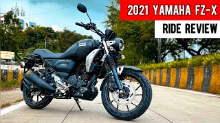 2021 Yamaha FZ-X Detailed Ride Review - is Finally Here🔥