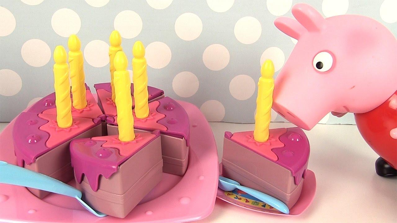 Peppa Pig Gâteau d'anniversaire Surprises Birthday Cake