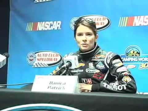 DANICA PATRICK Reactes To SouthPark NASCAR Epsiode