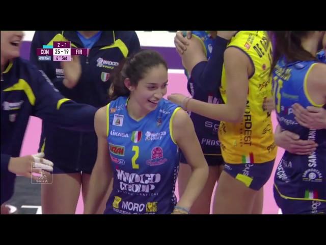#videoemozioni. Imoco Volley Conegliano - Il Bisonte Firenze