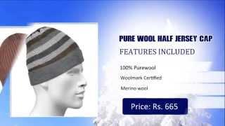Pure Wool Caps - Buy Woolen Caps Online India