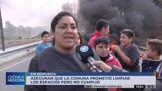 Denuncian basural a cielo abierto en barrio San Vicente