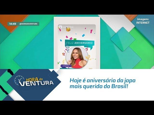 Hoje é aniversário da japa mais querida do Brasil! - Bloco 02