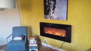 Touchstone Onyx 50 Electric Wall Mounted Fireplace Review