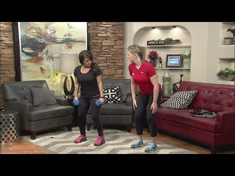 Courtney Byrd's anti-aging workout