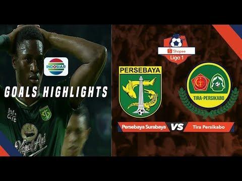 Persebaya Surabaya (1) vs (1) Tira Persikabo - Goal Highlight | Shopee Liga 1
