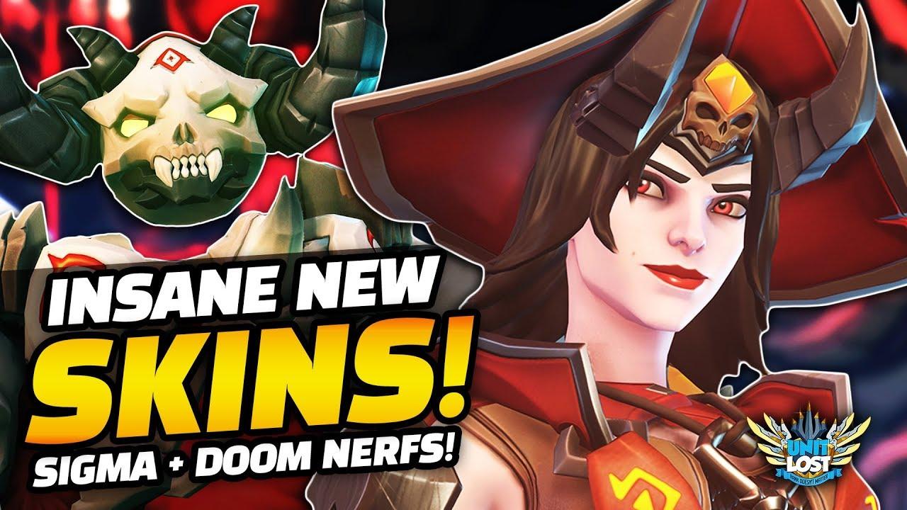Doomfist Halloween Skin 2020 All *NEW* Overwatch Halloween Terror 2019 SKINS!   HUGE Tracer