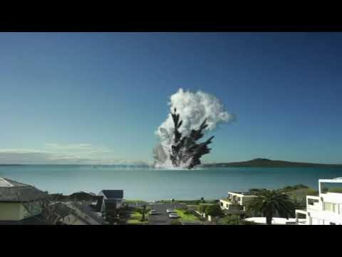 Underwater Volcanic Eruption Shot In Sumatra, Indonesia   9express