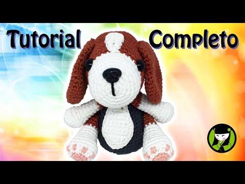 Tutorial completo del Perrito Beagle tejido amigurumi