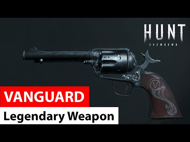 Vanguard for Caldwell Pax | Legendary Weapons of Hunt: Showdown