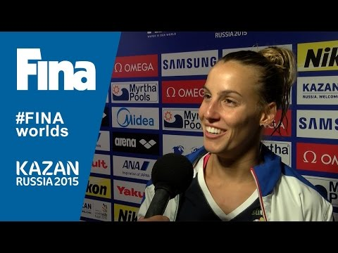 Tania Cagnotto: winner of Women's 1m Springboard in Kazan (RUS)