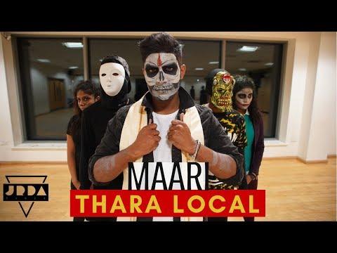 MAARI - Thara local | Dance | Halloween | Anirudh | Dhanush | Jeya Raveendran Choreography