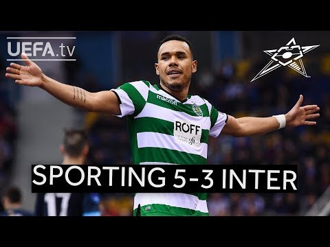 UEFA Futsal Champions League Highlights: Sporting CP 5-3 Inter