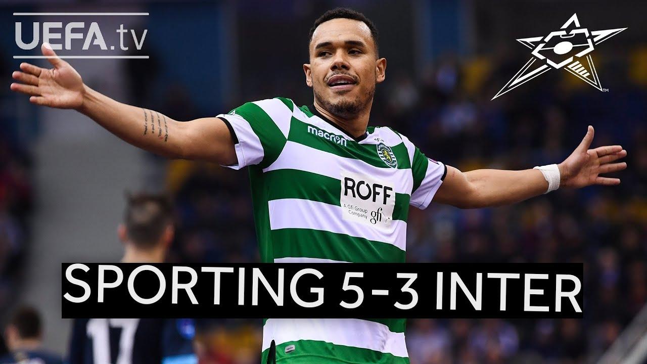 UEFA Futsal Champions League Highlights: Sporting CP 5-3 Inter
